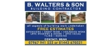 B Walters & Son Building Contractor