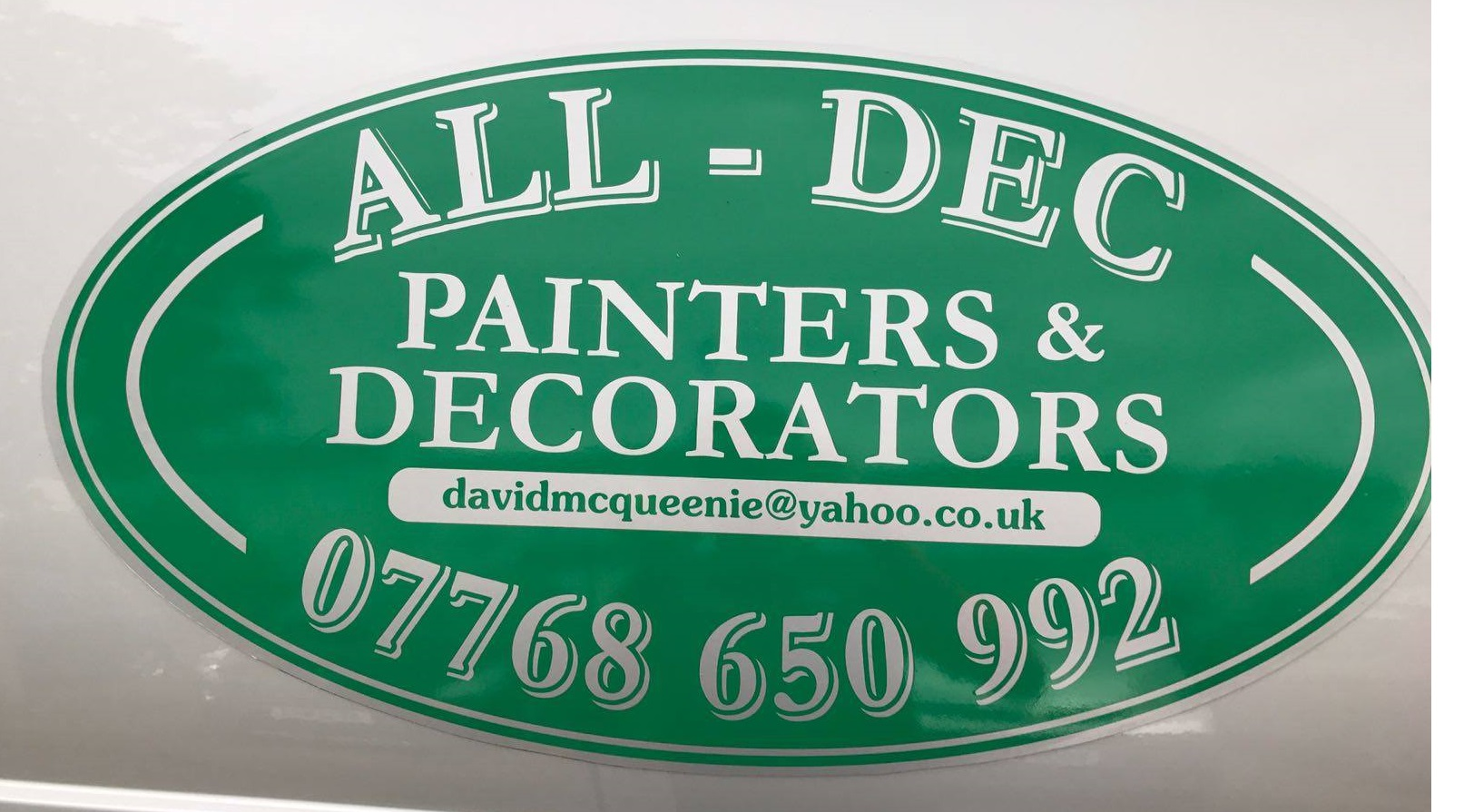 ALL-DEC Painter & Decorator