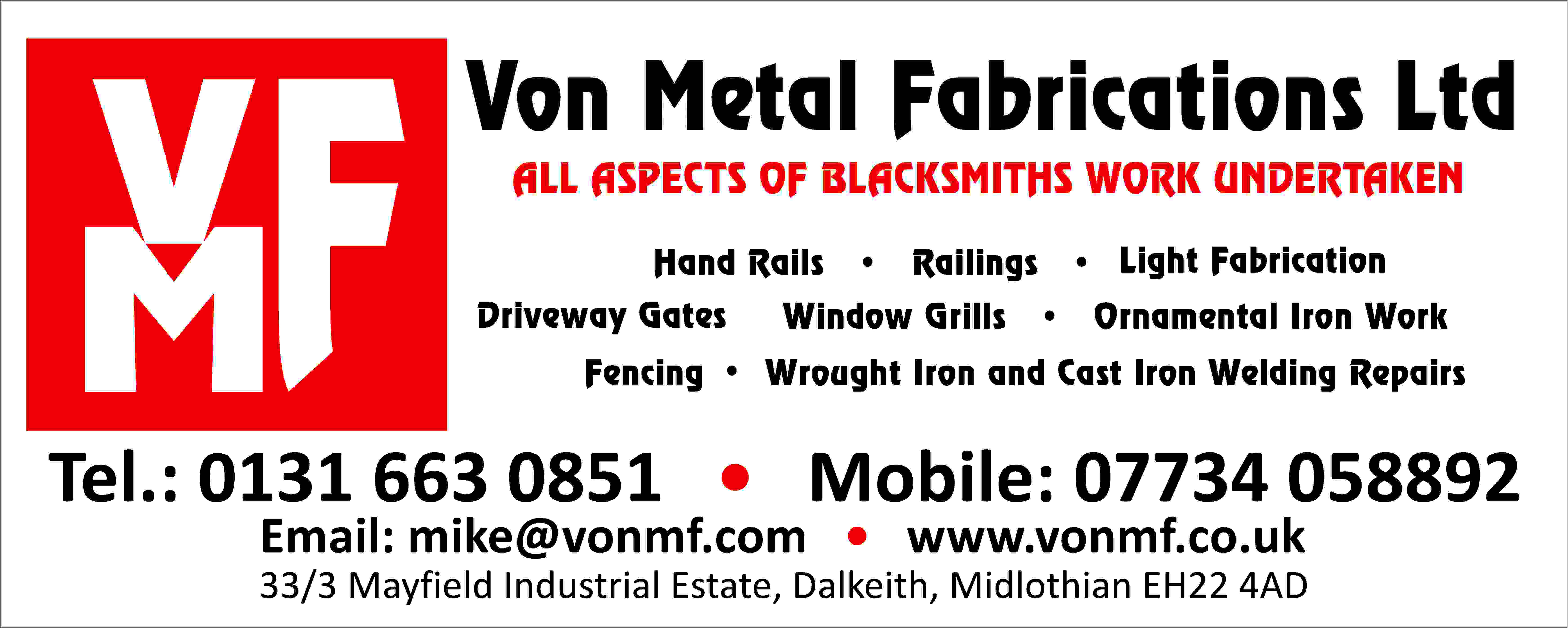 Von Metal Fabrications