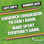 Rainbow Laces campaign