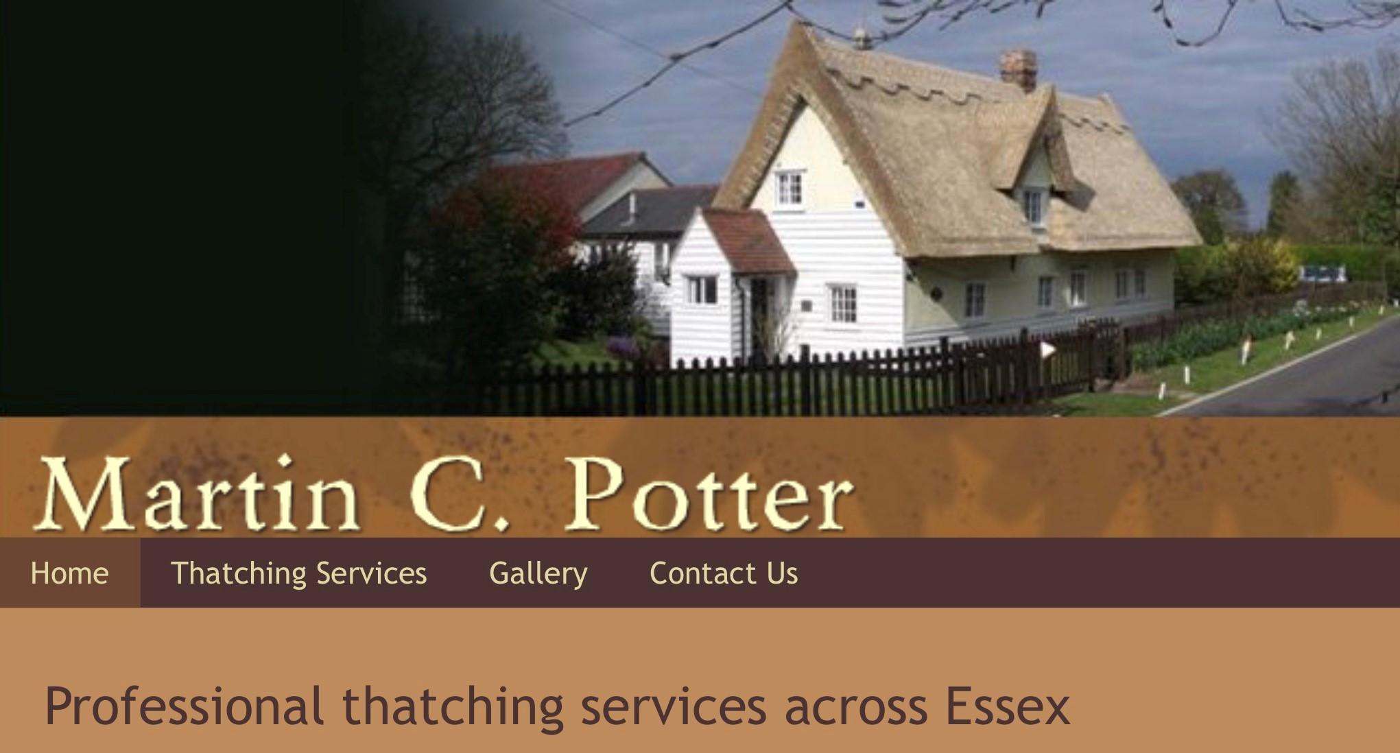 Masterthatcher (Martin C Potter)