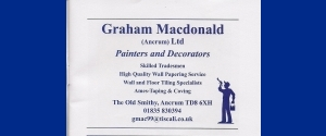 Graham McDonald (Ancrum) Ltd