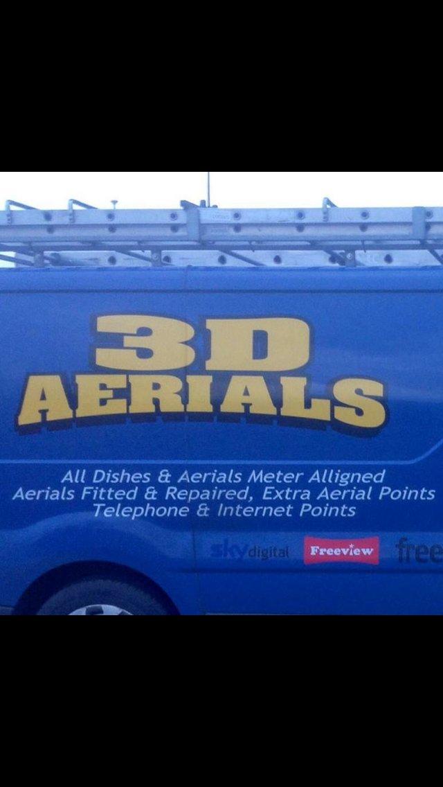 3D Aerials & Satellites,