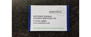Matthew Thomas Joinery Services