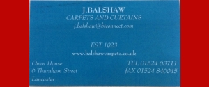 Balshaws Carpets