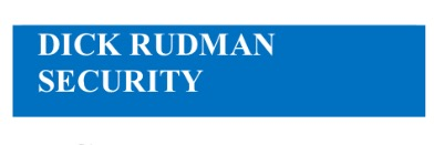 DICK RUDMAN security