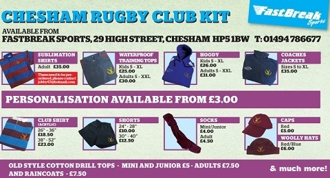 Chesham Rugby Club banner image 10