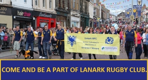 Lanark Rugby banner image 2