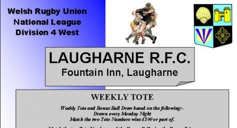 LAUGHARNE RUGBY FOOTBALL CLUB banner image 2