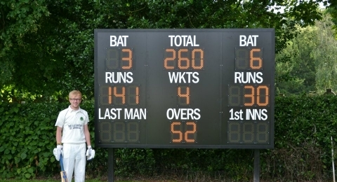 Eccleshall Cricket Club banner image 5