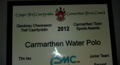 Carmarthen Water Polo Club banner image 9