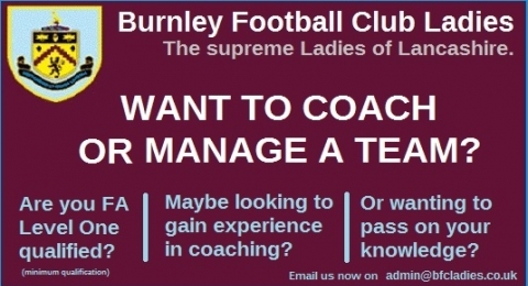 Burnley Football Club Ladies banner image 1