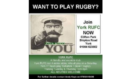 YORK RUGBY UNION FOOTBALL CLUB banner image 4