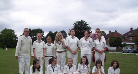 Holme Valley Girls Cricket Club banner image 3