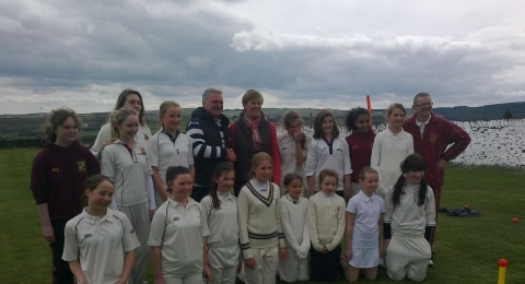 Holme Valley Girls Cricket Club banner image 6