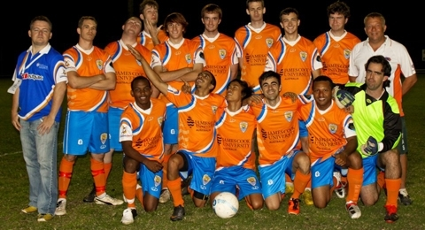 JCU Cairns Football Club banner image 1