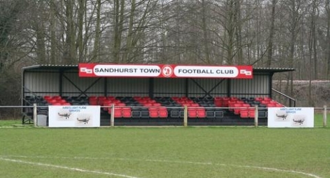 Sandhurst Town Football Club banner image 2