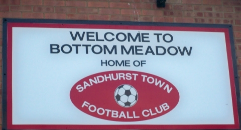 Sandhurst Town Football Club banner image 4