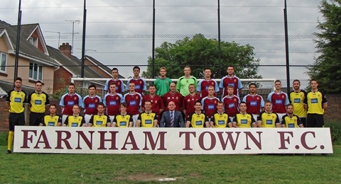Farnham Town Football Club banner image 4