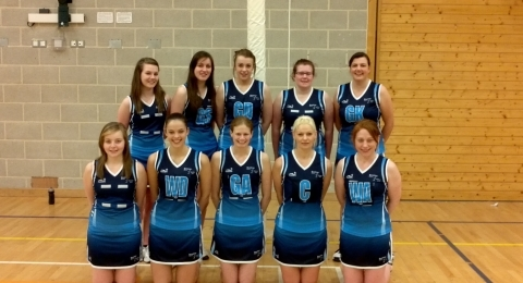 Dumfries Blues Netball Club banner image 8