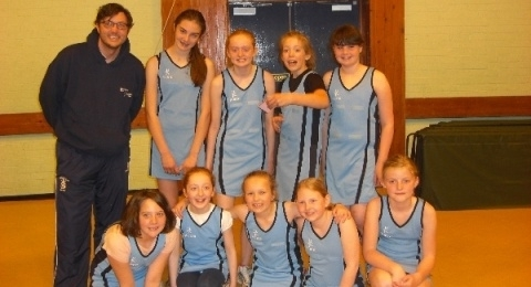 Dumfries Blues Netball Club banner image 4