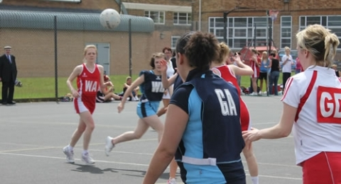 Dumfries Blues Netball Club banner image 7