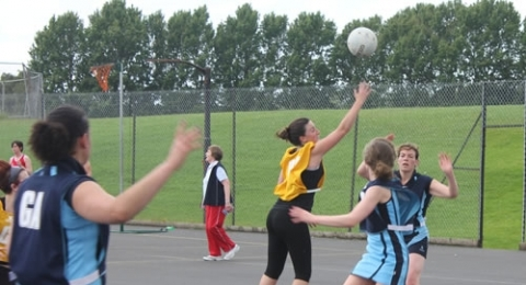 Dumfries Blues Netball Club banner image 5