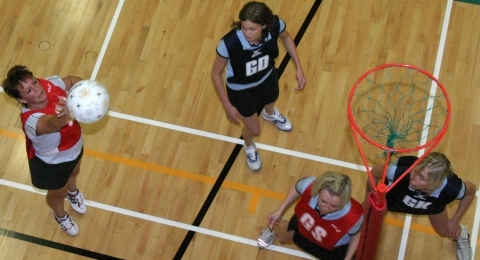 Dumfries Blues Netball Club banner image 6