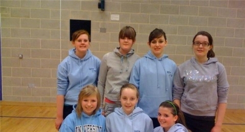 Dumfries Blues Netball Club banner image 2