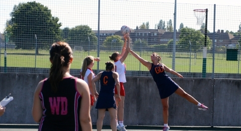 Trinity Netball Club banner image 4