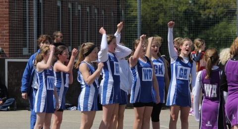 Norfolk United netball club banner image 2