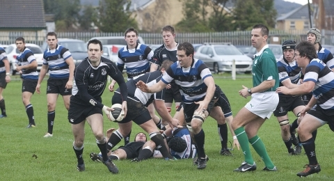 Ards RFC - Ulster Bank League 2B banner image 1