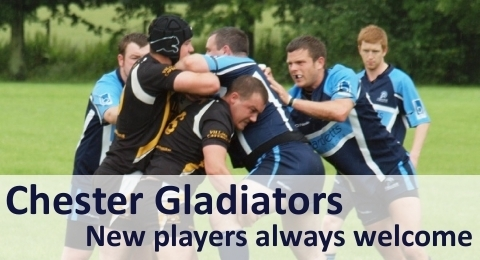 Chester Gladiators RLFC banner image 4