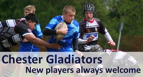 Chester Gladiators RLFC banner image 1