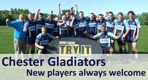 Chester Gladiators RLFC banner image 3