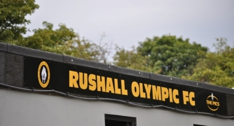 Rushall Olympic F.C. banner image 2