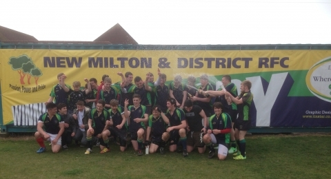 New Milton & District RFC NMRFC banner image 9