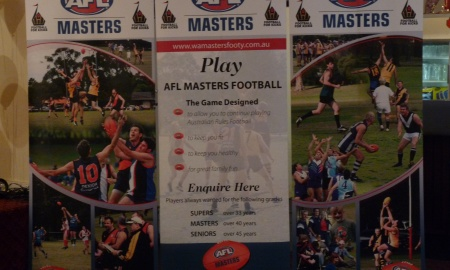 Kalgoorlie Masters Football Club banner image 1