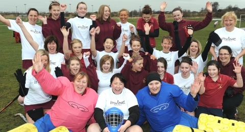 Irvine Ladies Hockey Club banner image 2