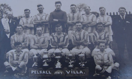 Pelsall Villa Football Club banner image 9