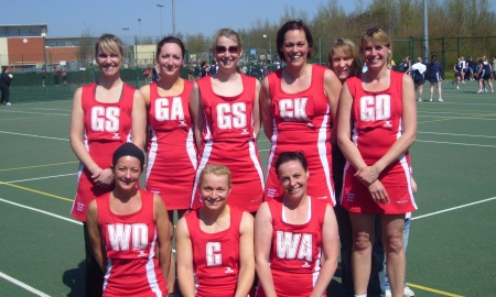 Optimum Ladies Netball banner image 2