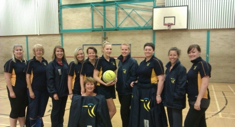 Kingfisher Netball Club banner image 10
