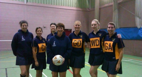 Kingfisher Netball Club banner image 1