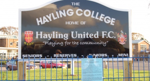 Hayling United Football Club banner image 10