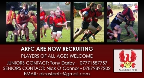 Alcester Rugby Football Club banner image 2