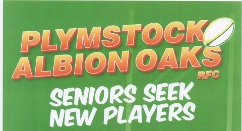 Plymstock Albion Oaks RFC banner image 4
