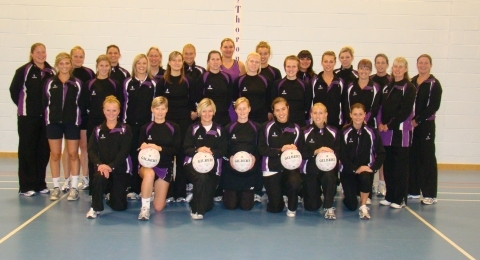 Thoroughbreds Netball Club banner image 1