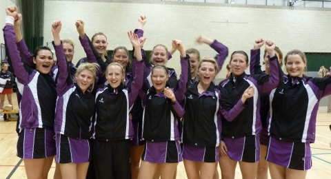 Thoroughbreds Netball Club banner image 2