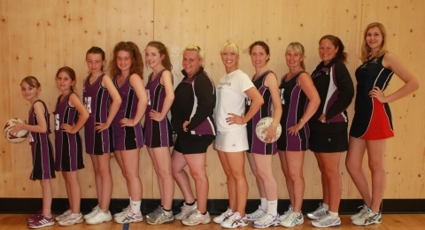 Thoroughbreds Netball Club banner image 9