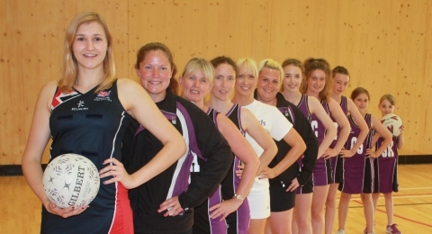 Thoroughbreds Netball Club banner image 4